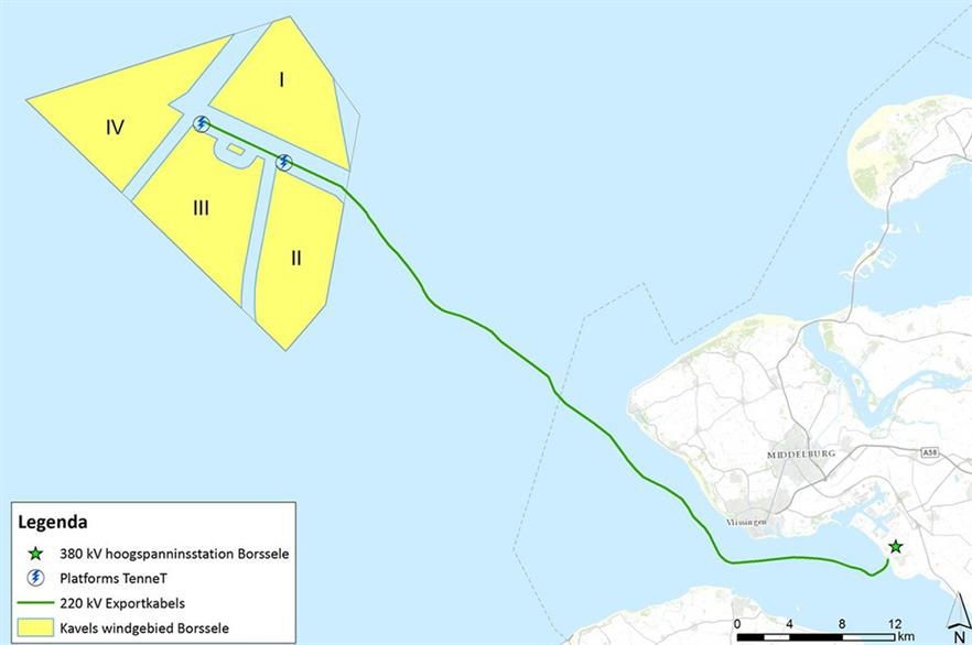 Borssele III & IV will be build by Shell, Eneco, Van Oord and Mitsubishi/DGE