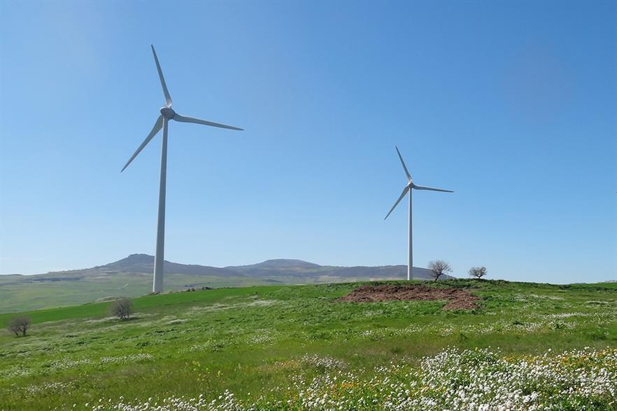 Just 413MW of new wind capacity was added in Italy in 2019 (pic credit: Futuren)