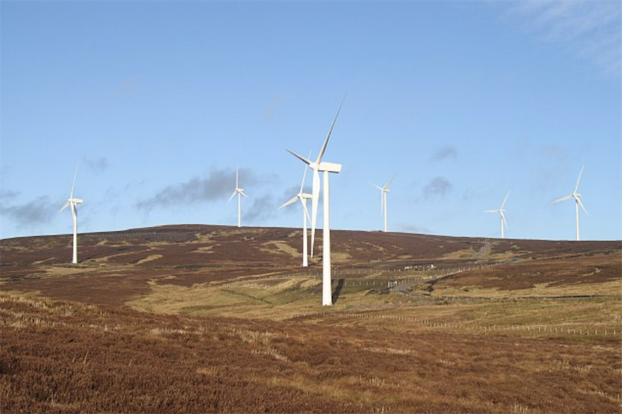 Greencoat acquired a 50% stake in the Braes of Doune wind farm last month (pic credit: Wikimedia Commons/Richard Webb)