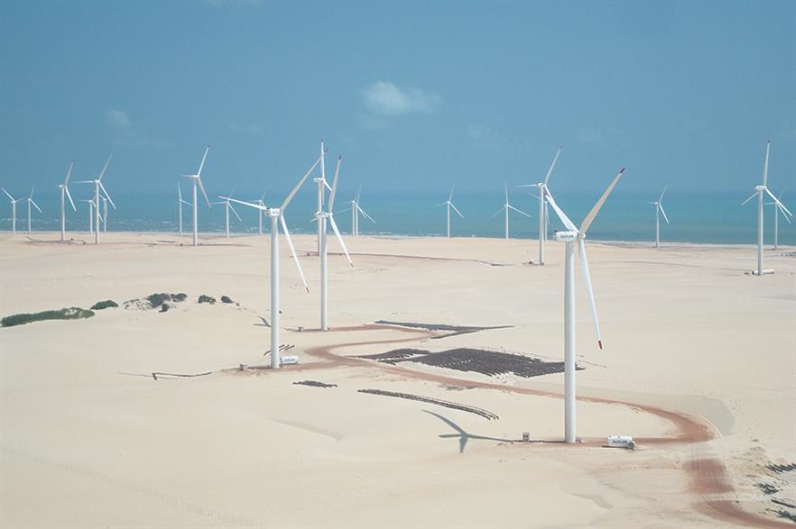 Developers of more than 300MW of unbuilt capacity in Brazil voluntarily cancelled their power agreements (pic: Suzlon)
