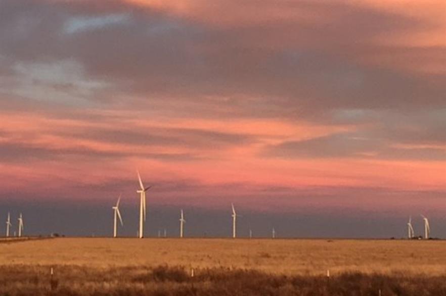 Pattern Energy's 324MW Broadview wind farm in eastern New Mexico
