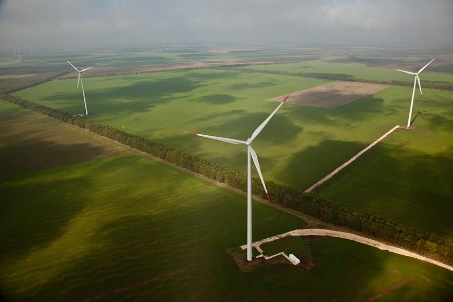Investment in southeast European wind is more expensive than other European member states