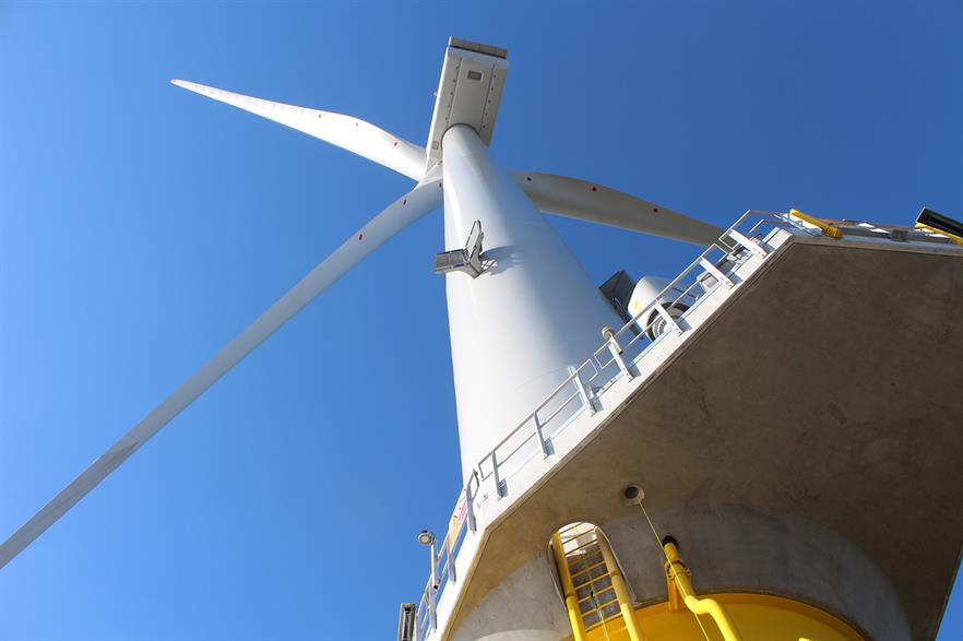 MHI Vestas supplied 32 V164 8MW turbines to the Burbo Bank Extension