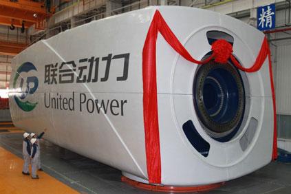 Guodian's 6MW offshore turbine