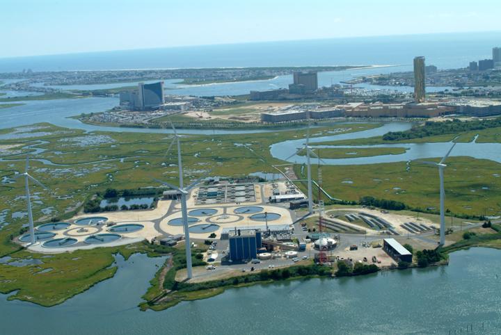 The Jersey Atlantic wind farm... taken pre-Hurricane Sandy