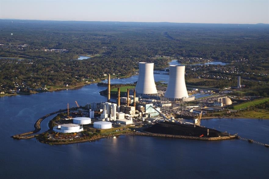 The Brayton Point Power Station ha potential to become and offshore wind hub