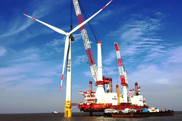 Huadian Heavy Industries will install monopiles at the Bohai Bay project