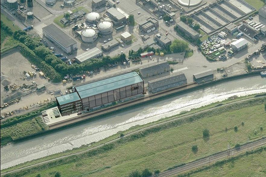 CTruk's Advanced Composites Technology centre will be on the banks of the River Colne