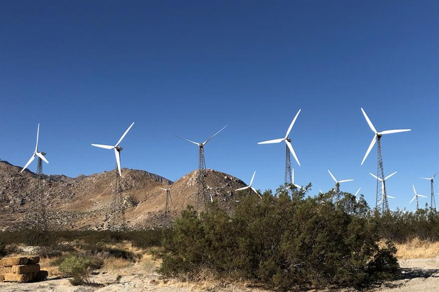 The portfolio is thought to include the 39MW Cabazon project (above) in California (pic credit: GlidePath)