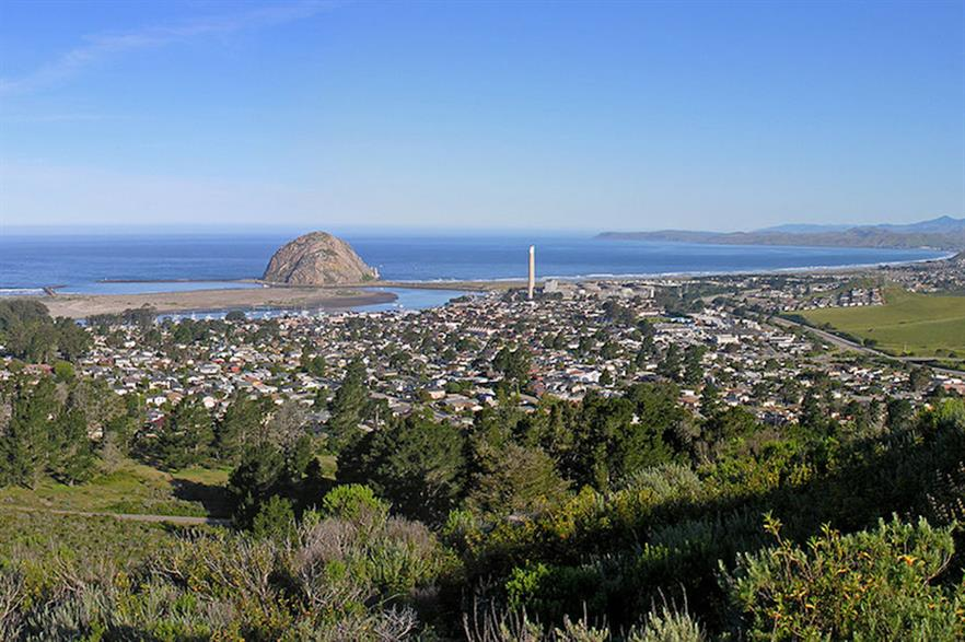 Offshore wind leases will be awarded off Morro Bay, a coastal city in central California (pic credit: Kjkolb)