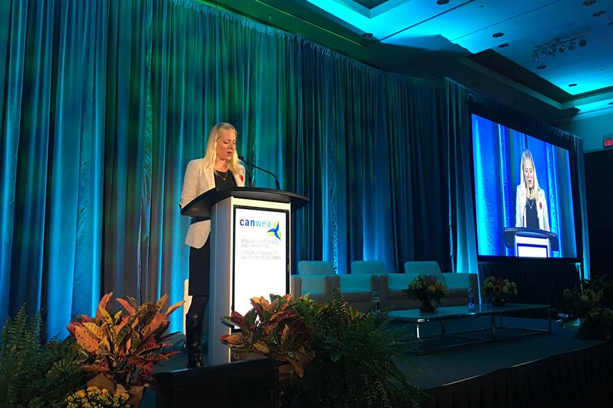 Canada environment minister Catherine McKenna: Federal operations will be 100% renewable by 2025