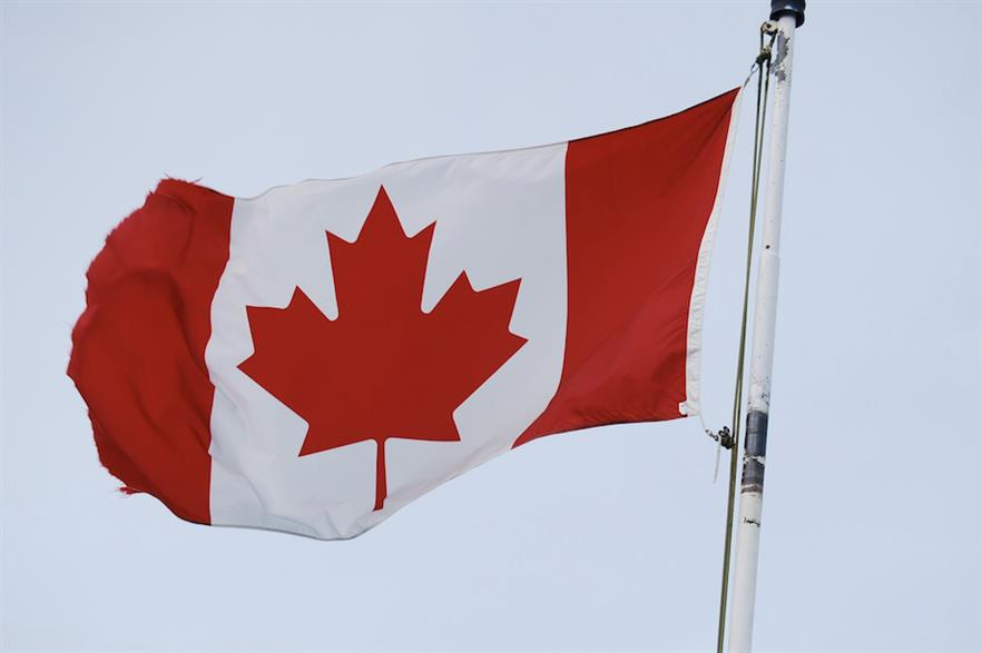 Last year, 566MW of new wind power capacity was installed in Canada (pic: Max Pixel)