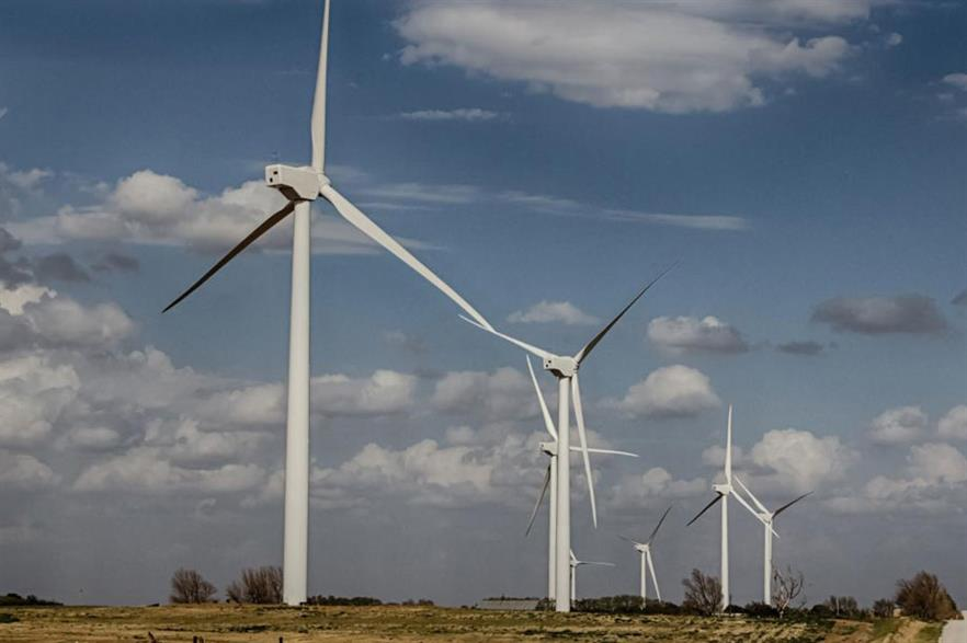 The 300MW Canadian HIlls project was the first Apex brought online