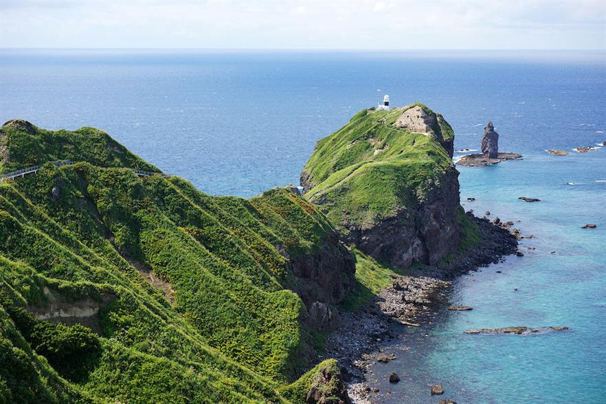 The coast off Shakotan, western Hokkaido (pic credit: Wikimedia Commons)