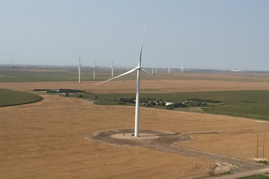 The portfolio includes the 150MW Carousel wind farm in Colorado (pic credit: NextEra Energy Resources)