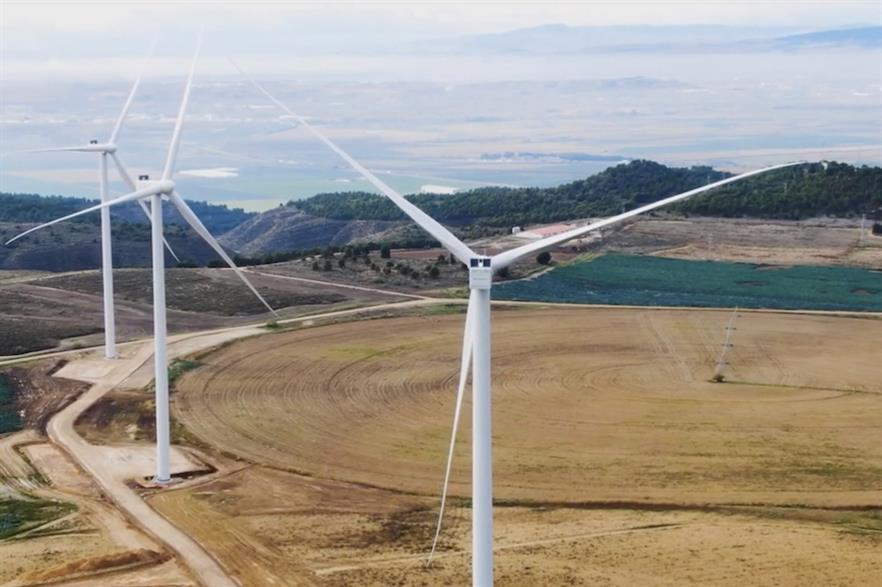 3.9GW of onshore wind capacity was installed in the first half of 2020, including Iberdrola's Cavar project in Spain