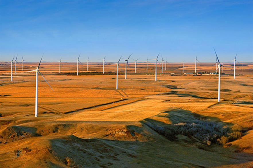 Saskatchewan's largest wind farm is currently SaskPower's 149.4MW Centennial project