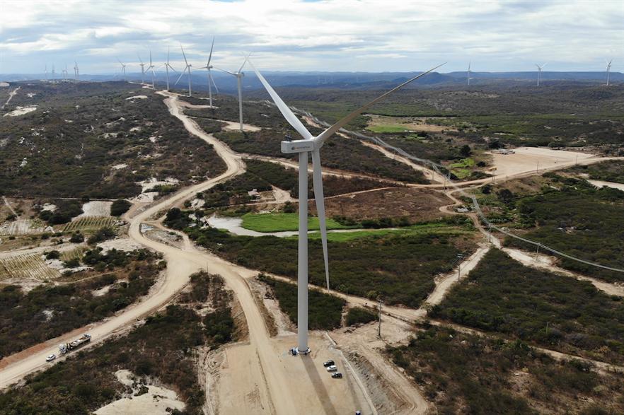 Neoenergia's Chafariz complex will eventually consist of 136 of Siemens Gamesa's SG 3.4-132 turbines