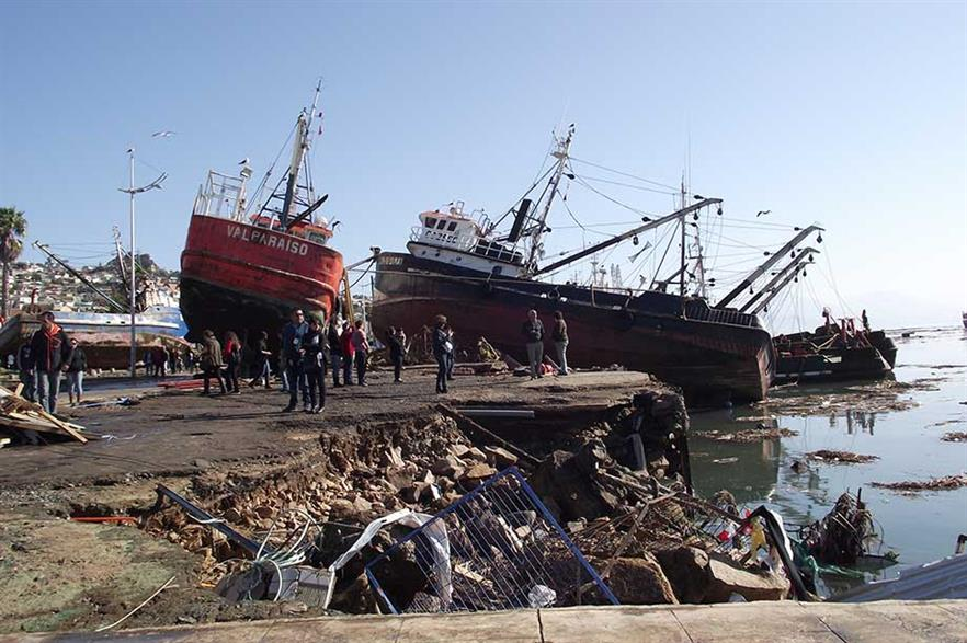 Coquimbo was hit by the tsunami but wind turbines were not damaged (pic: Sfs90)