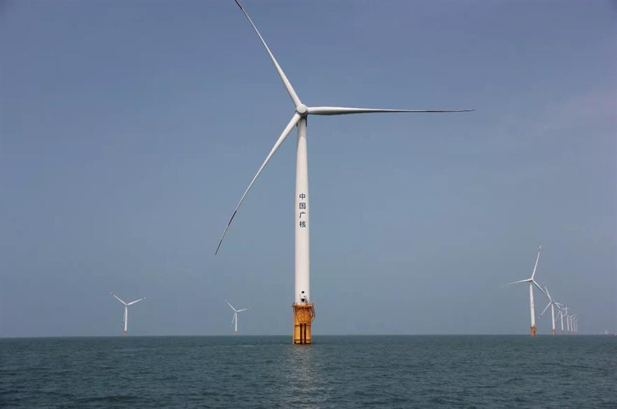 China will continue to dominate installations over the next five years, while offshore wind could 'become truly global', GWEC said (pic: CGN)