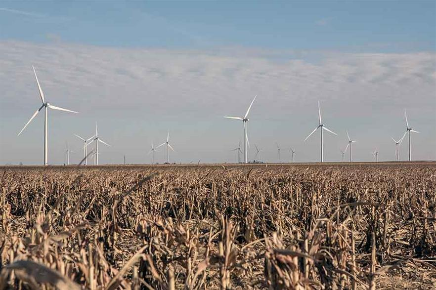 Enel's North American division's 400MW Cimarron Bend wind farm in Kansas