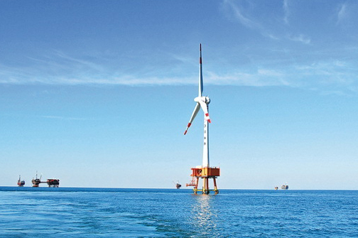 CNOOC installed China's first offshore turbine in 2007