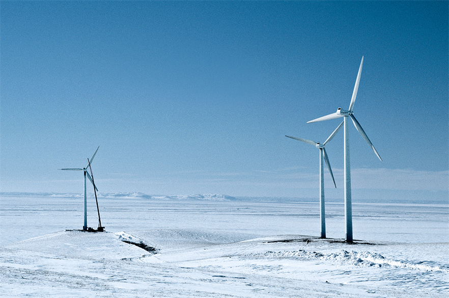 Texas experienced conditions more commonly found in Nordic countries in mid-February (pic credit: LM Wind Power)