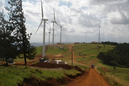 The Cape Verde project uses V52 850kv Vestas turbines