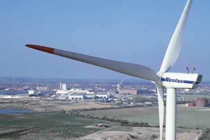 Vestas V90 3MW turbine will be used in the project