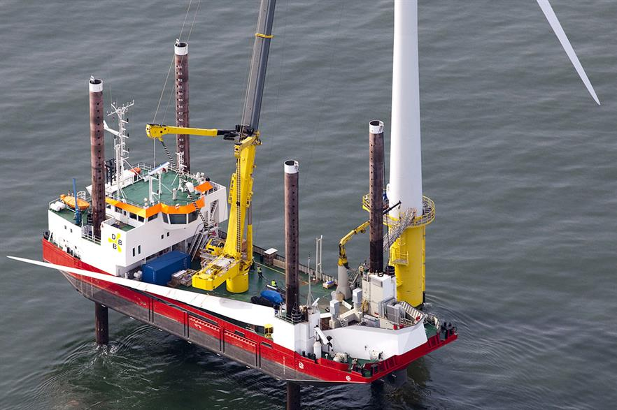 DBB's Wind jack up vessel will help service MHI-Vestas' projects