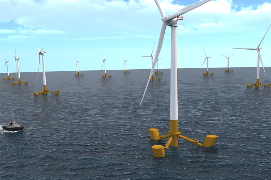 DCNS will provide the foundations for Eolfi's Ile de Groix zone off Brittany -- but GE will no longer supply the turbine