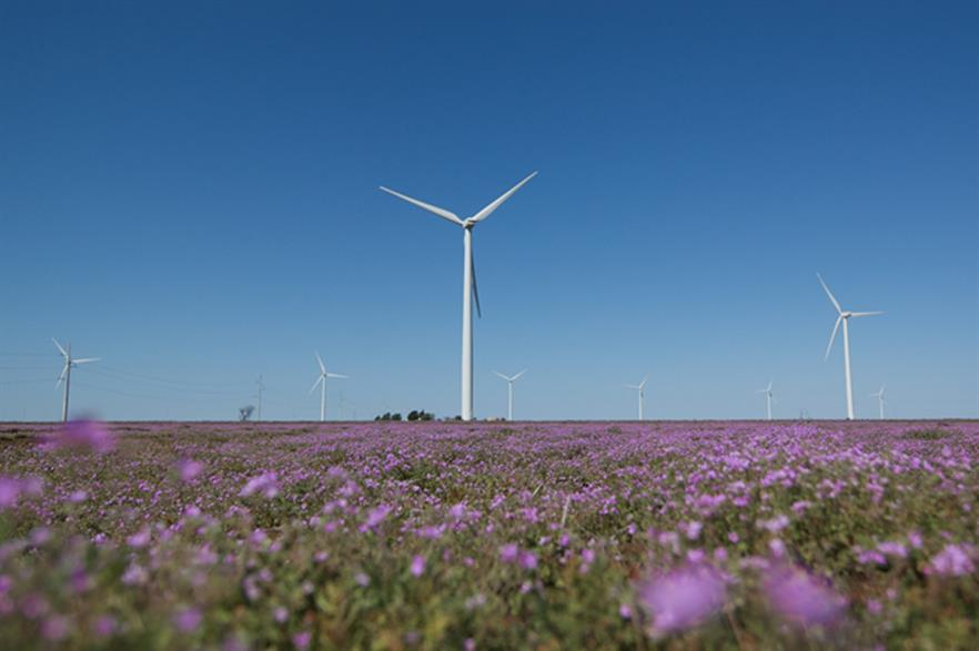GE's 1.85MW turbines will power the project
