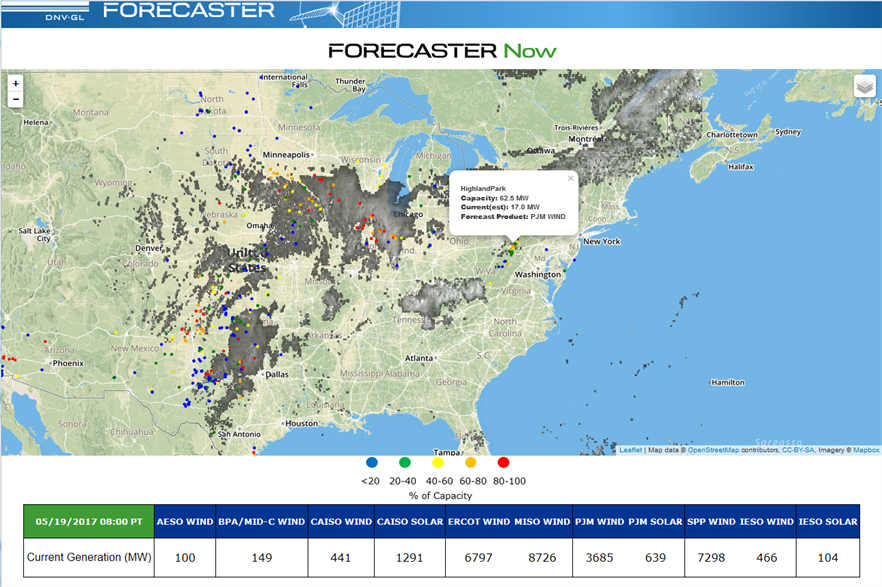 The Forecaster Now program will cover the US and Canada initially