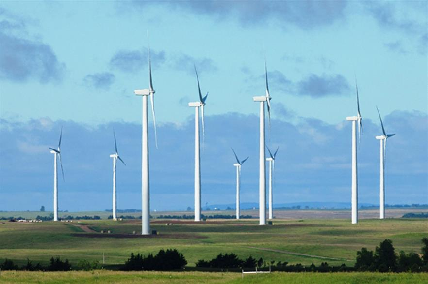 South Dakota generates 26% of its power from wind, second only to Iowa