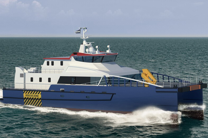 Damen said local US partners will build the vessel to comply with Jones Act requirements