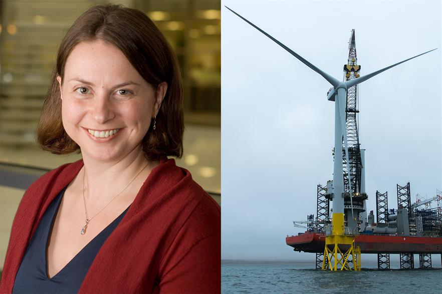 Danielle Lane has been appointed country manager at Vattenfall UK, which recently completed the EOWDC site in Scotland