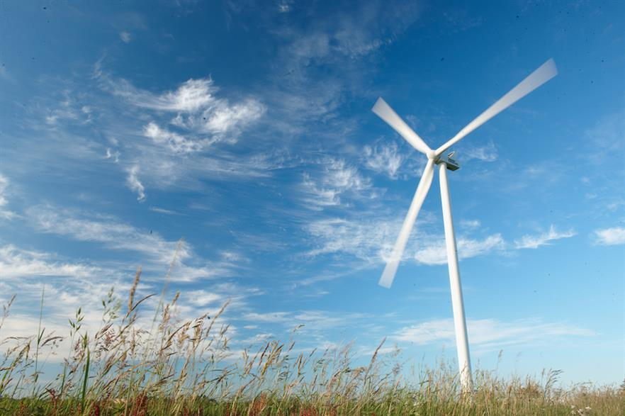 The test between Energinet and Energi Danmark marks the first time wind power was used to balance the country's electricity grid (pic credit: Vestas)