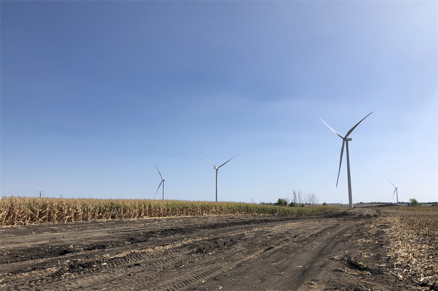 GE will supply more than 500 turbines in its 2.X range for the wind cluster in Oklahoma