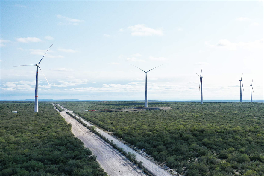 Enel Green Power's 269MW Dolores wind farm consists of 83 Nordex turbines
