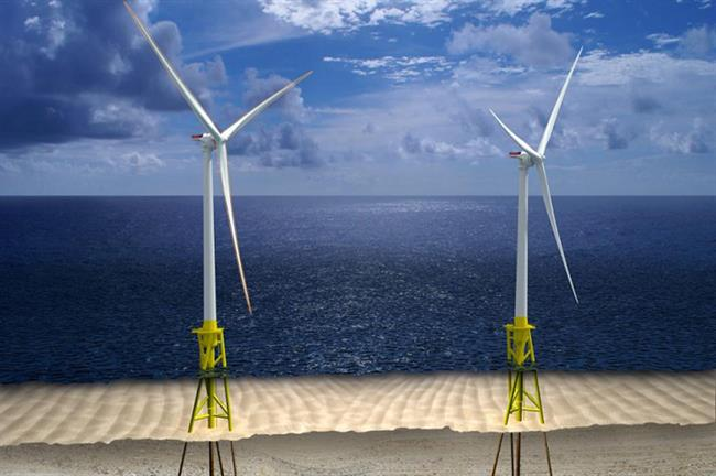 VOWTAP was due to use a twisted-jacket foundation and GE Haliade turbines