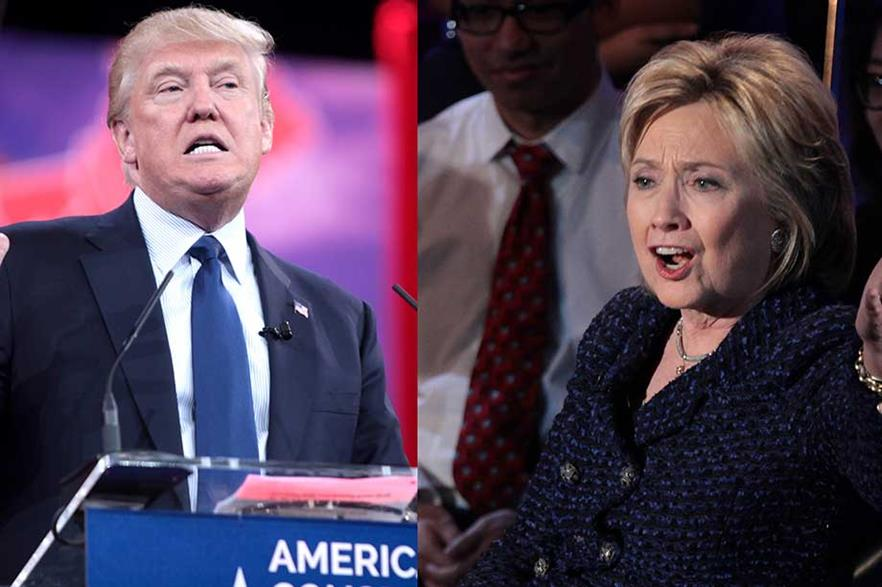 Less than four minutes of air time across three debates between Donald Trump and Hillary Clinton was devoted to energy and the environment (pic: Gage Skidmore)