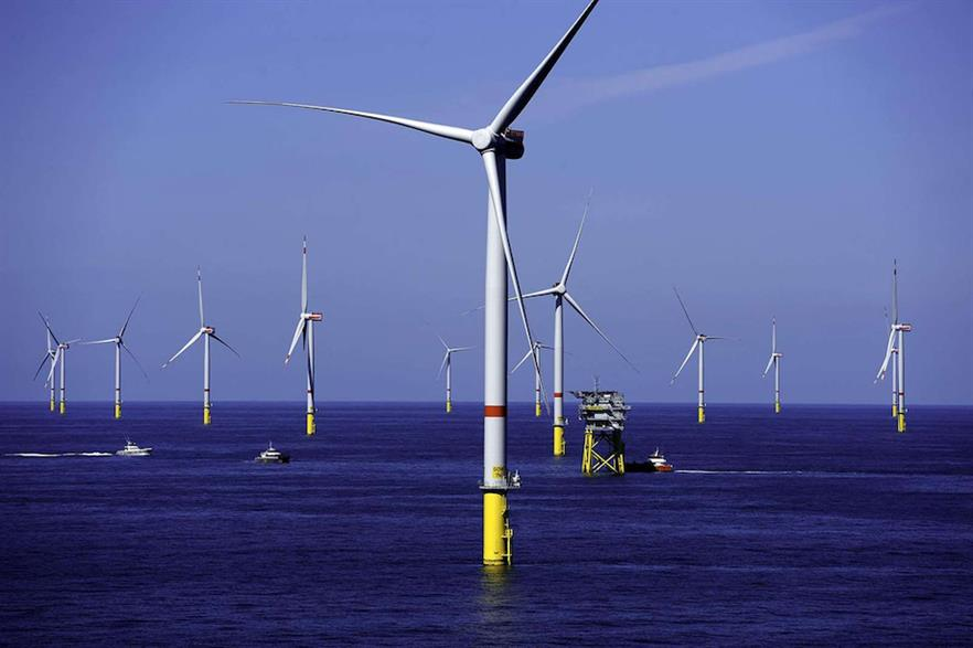 GIP had previously invested in wind projects including the 330MW Gode Wind 1 site (above) in the German North Sea (pic credit: Dong Energy)