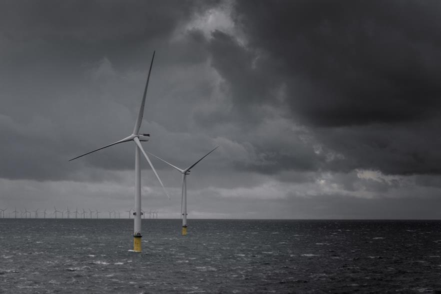 Turbine installation has been completed at Dong Energy's Bubo Bank Extension project (pic: MHI Vestas)