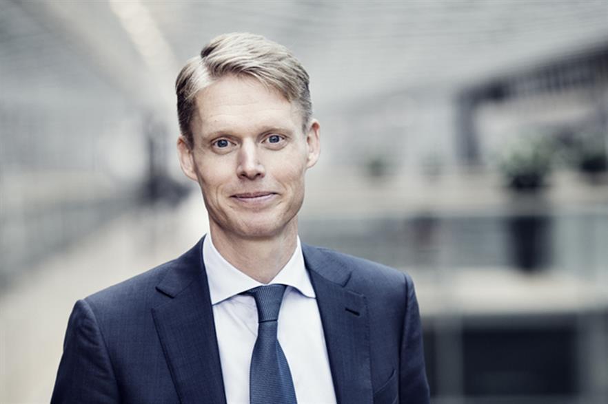 Dong Energy CEO Henrik Poulsen