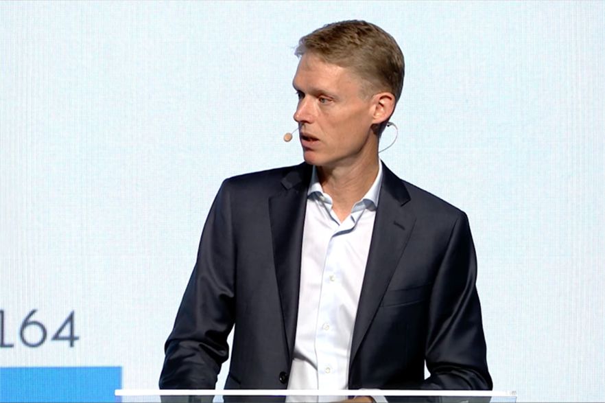 Dong Energy (soon to be Ørsted) CEO Henrik Poulsen reveals the new company name