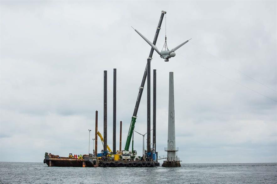 Decommissioning has started at the 26-year old Vindeby offshore project, one of the world's first