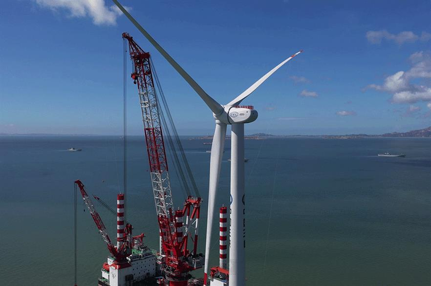 Dongfang's 10MW prototype is one of several large Chinese offshore turbines launched this year