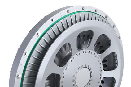 NGenTec's air-cored axial-flux permanent magnet generator