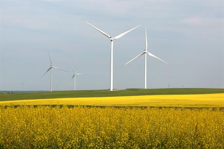 Ontario added 413MW of wind capacity in 2016, taking its total to 4,781MW