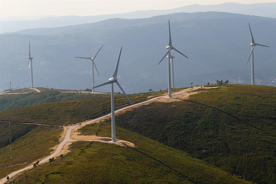 EDPR's Nation Rise wind project (not pictured) has already had a number of turbines installed